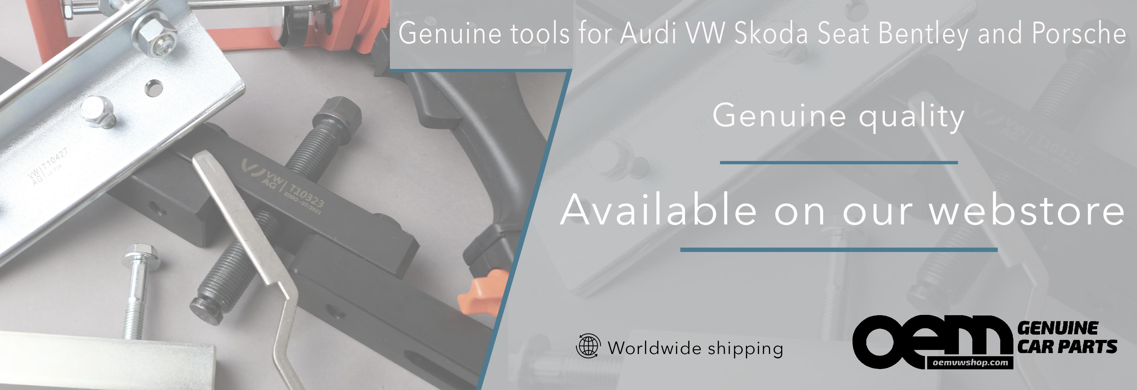 Genuine VW TOOLS