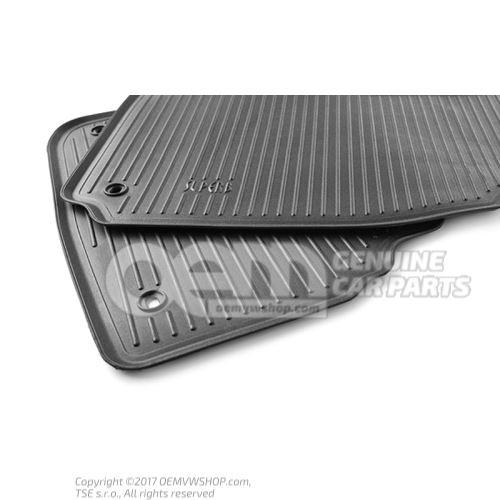 1 set foot mats Skoda Superb 3U DCC500001