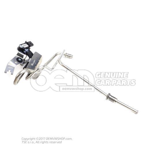 Cable de commande avec capteur de pression differentielle 3C0131552H