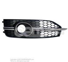 Grille noir satine droite Audi A7 Sportback 4G 4G8807682E 9B9