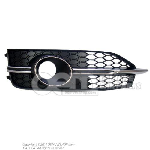 Grille satin black right Audi A7 Sportback 4G 4G8807682E 9B9