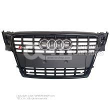 Radiator grille black 8K0853651D VMZ