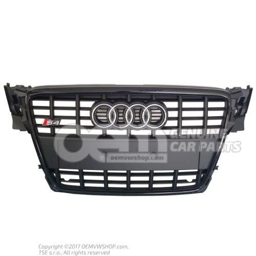 Radiator grille black Audi A4/S4/Avant/Quattro 8K 8K0853651D VMZ