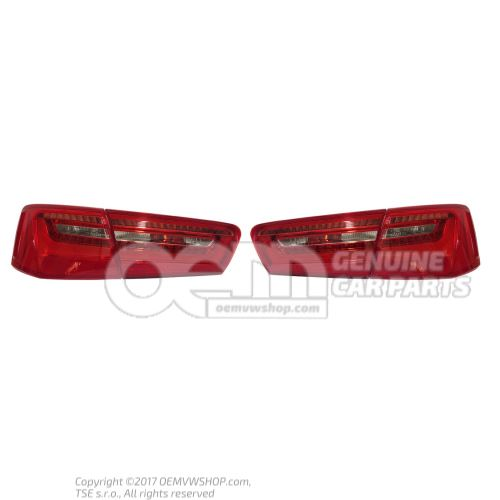 Set of tail lights sedan OEM01455275