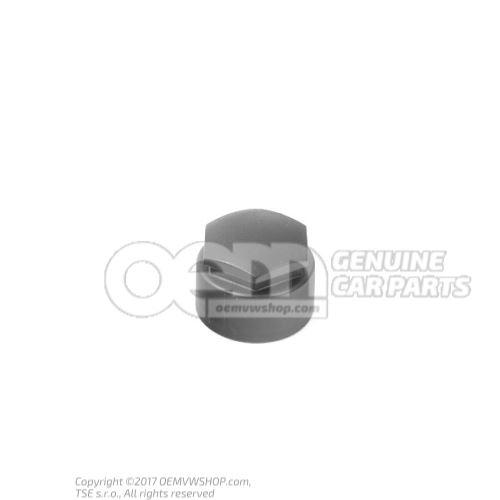 Capuchon de boulon de roue noir satine 4F0601173  01C