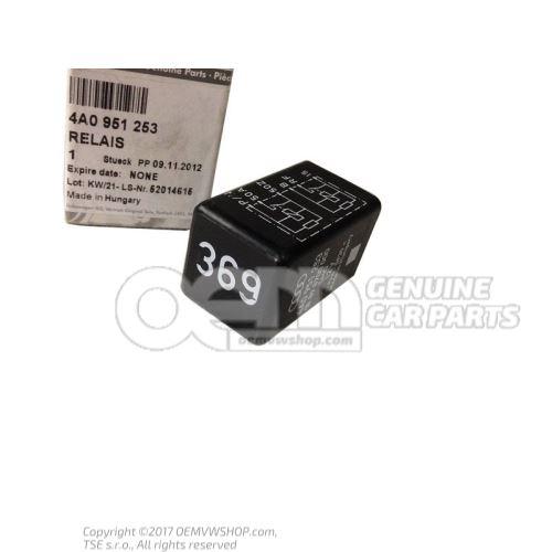 Relais double p. bv automatique 4A0951253