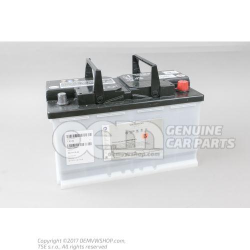 带电量显示器的蓄电池, 已加注、已充电 000915105DH