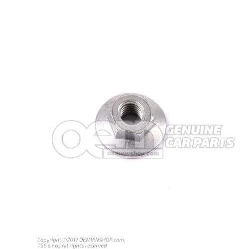 N  90761103 六角带肩螺母, 自锁式 M8