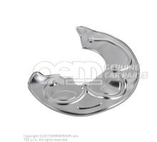 Cover plate for brake disc 8T0615312B