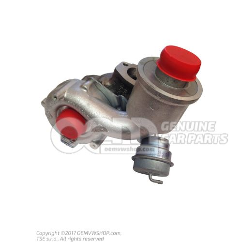 Exhaust gas turbocharger 06A145713F