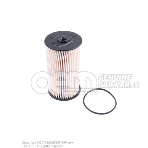 Filter element with gasket 3C0127434