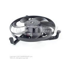 Ventilátor chladiča s držiakom ventilátora 6X0959455C 1C0121206A