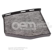 Filter insert with odour and harmful substance filtering 1K1819653B