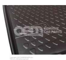 Tapis de coffre support mousse p. vehicules avec plancher de charge sureleve coque de coff Volkswagen Golf 5K 1K0061161B