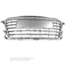 Radiator grille platinum grey Audi TT/TTS Coupe/Roadster 8S0853651A 1RR