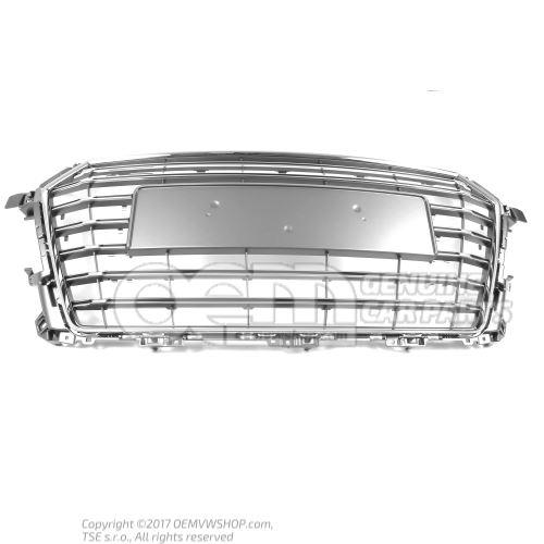 散热器格栅 铂灰色 Audi TT/TTS Coupe/Roadster 8S 8S0853651A 1RR