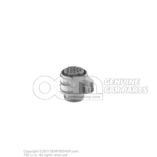 Round connector housing 16 pin 3D0973993