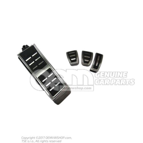 1 Set Pedal Caps and cover for foot support for manual transmission