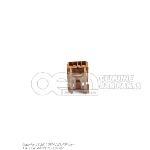 Boitier a fiche plate 8K0973754A