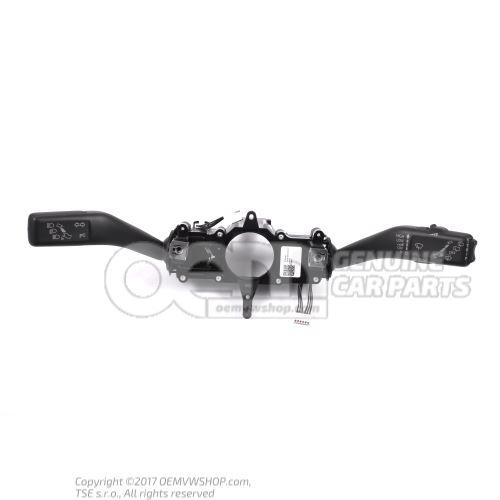 Riadiaca kol. kombinovaný vypínač saténová čierna