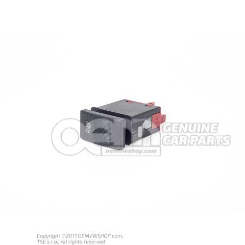 Выключатель для рации чёрный satinschwarz 8D0035775 01C