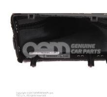 Selector lever handle soul (black)/titanium lhd Audi A6/S6/Avant/Quattro 4G 4G1713139P NOA