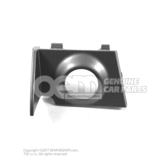 Embellecedor para sensor de ultrasonido gris platino der. Audi TT/TTS Coupe/Roadster 8S 8S0919268A 1RR