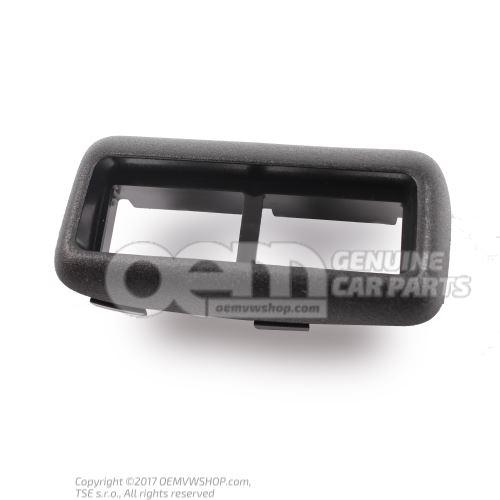 Trim satin black Volkswagen Golf 1J 1J0858105 01C