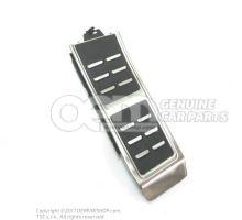 Revetement pour repose-pieds aluminiun conduite à gauche plastique / acier inoxydable 8K1864777B 3Q7