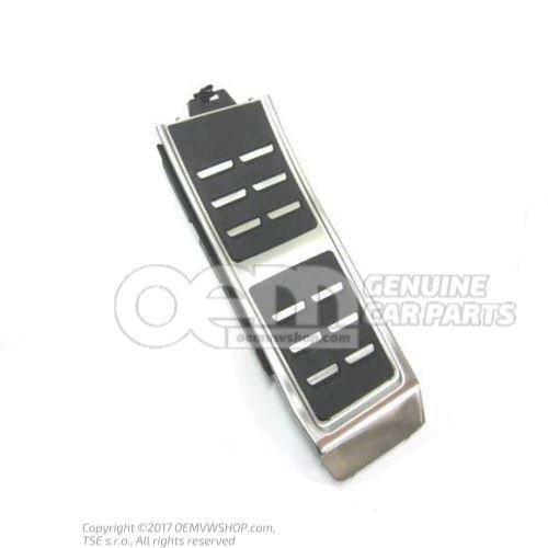 Cubierta para reposapies aluminio 8K1864777B 3Q7