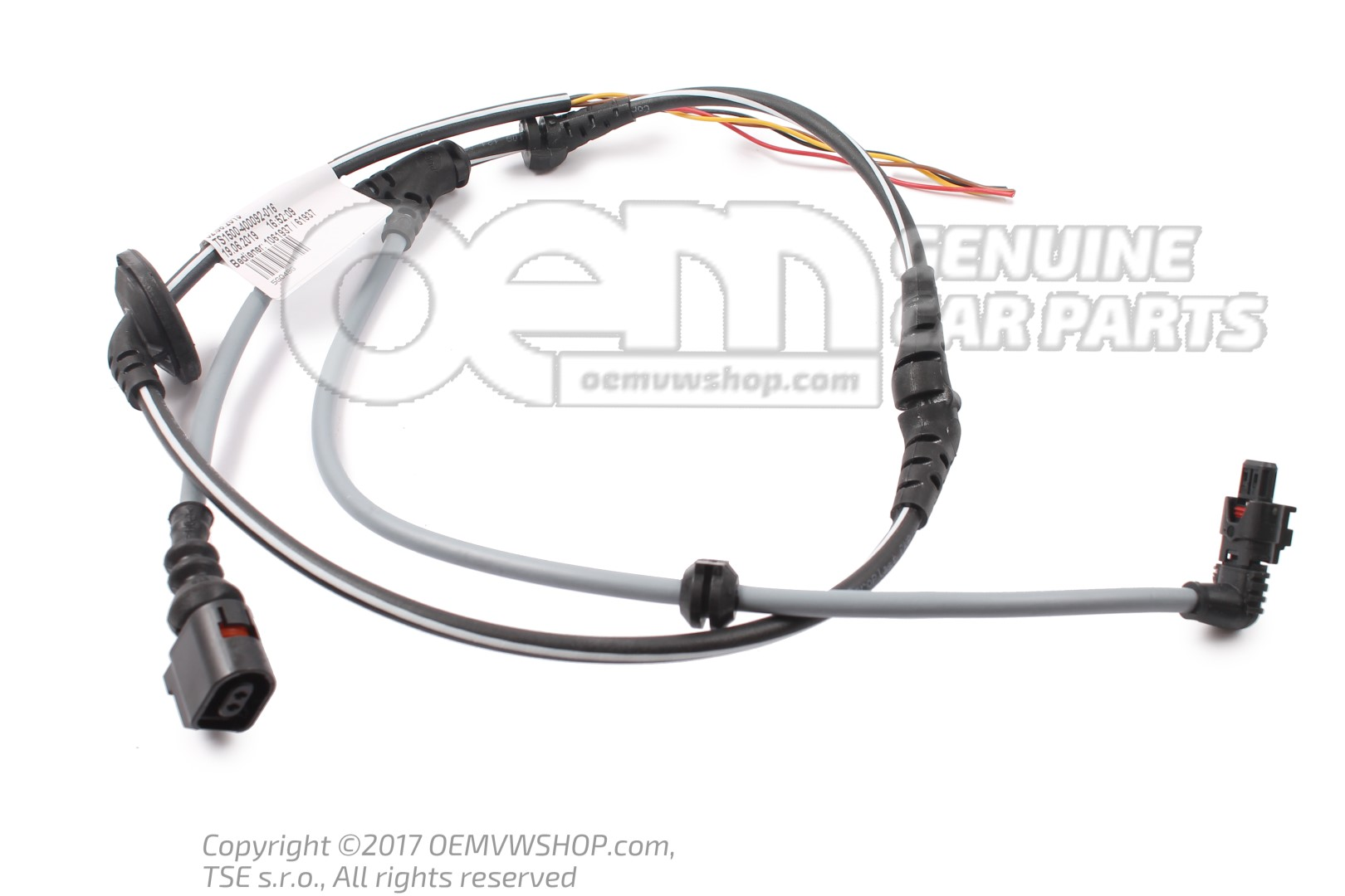 Wiring harness for speed sensor 40G40BG