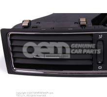 Дефлектор чёрный/блестящий хром 3T0820951A TDZ