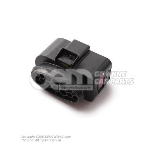 Flat contact housing with contact locking mechanism 14 pin 3C0973737