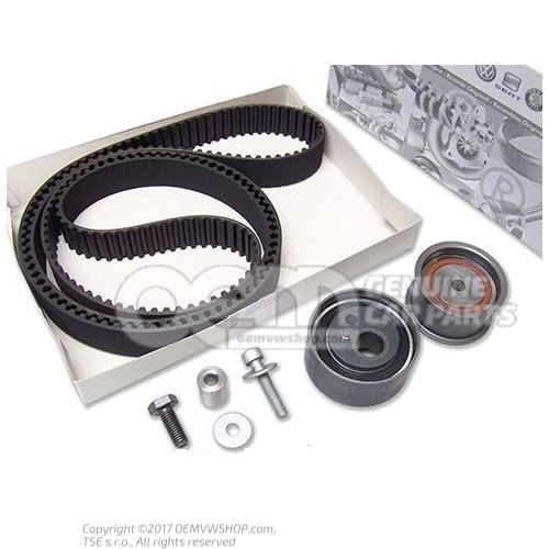 Repair kit for toothed belt