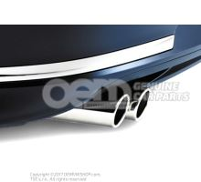 Trim for exhaust tail pipe