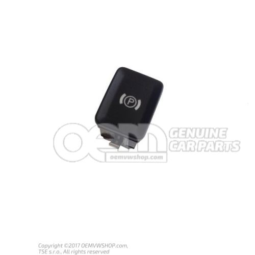 Клавиша электромеханического стояночного тормоза черный/белый 3C0927225C REH