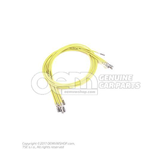 1 faisceau cable indiv. avec resp. 2 contacts en paquets de 5 pieces 'Unite de commande 5' 000979255E