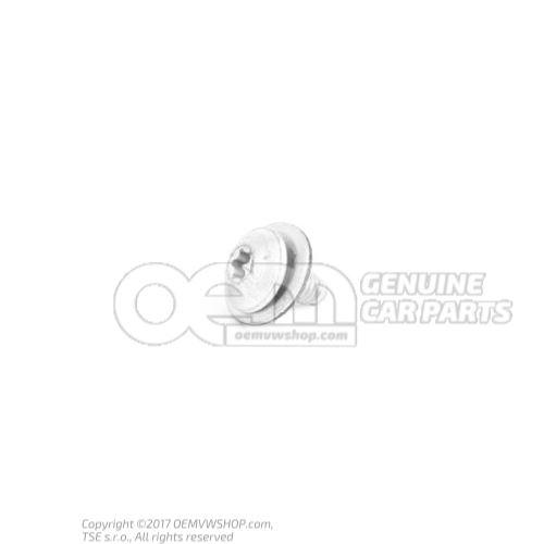 N  90948902 Vis tete bombee(avec rondelle) M6X15