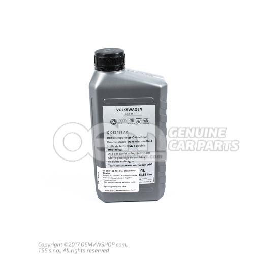Dual clutch gearbox oil see workshop manual
