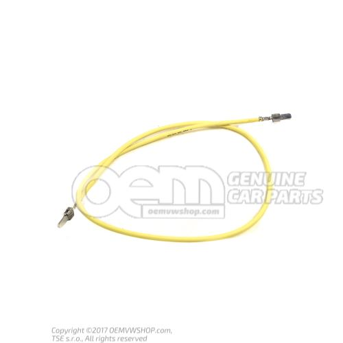 1 faisceau cable indiv. avec resp. 2 contacts en paquets de 4 pieces 'Unite de commande 4' 000979307E