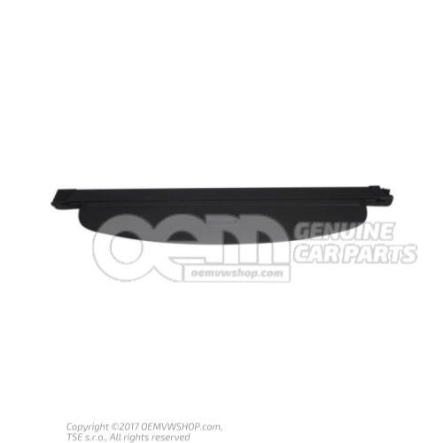 Krycia roleta pre dušu batožinového priestoru (čierna)