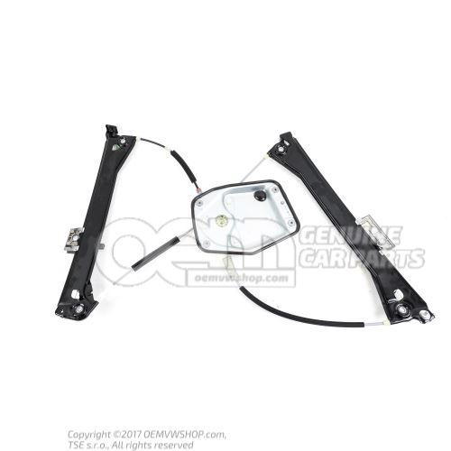 不带马达的车窗升降器 Volkswagen Eos 1Q 1Q0837461G