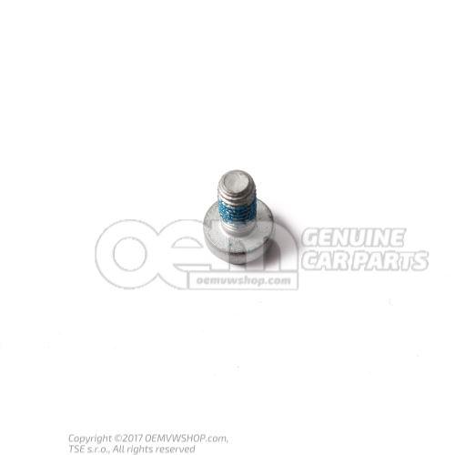 N  10335207 内六角圆头/平头 螺栓,自锁式 M6X12
