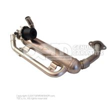 Cooler for exhaust recuperation 03G131512AD