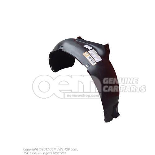 Пластмассовый подкрылок 1J0809961A