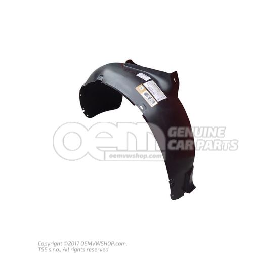 Coquille passage roue-plastiqu 1J0809961A
