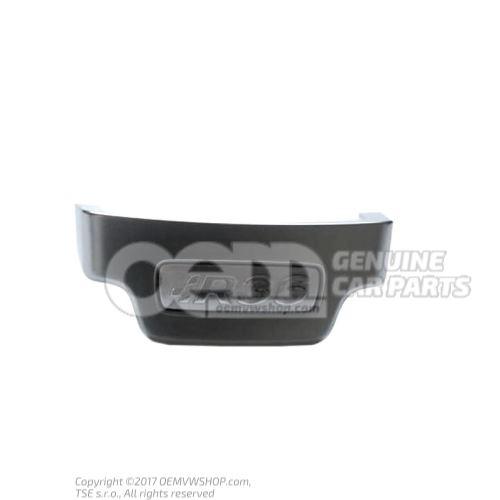 Plaquette aluminiun Volkswagen Passat 3C 4 motion 3C0419685E 3Q7