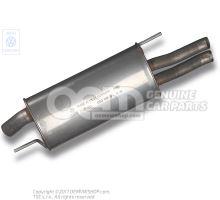 Rear silencer 1H6253609Q