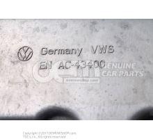 Bac a huile moteur avec ouverture pour capteur niveau 03G103603AD