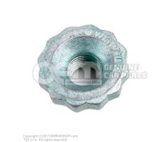 Double hexagon nut 6Q0407396B